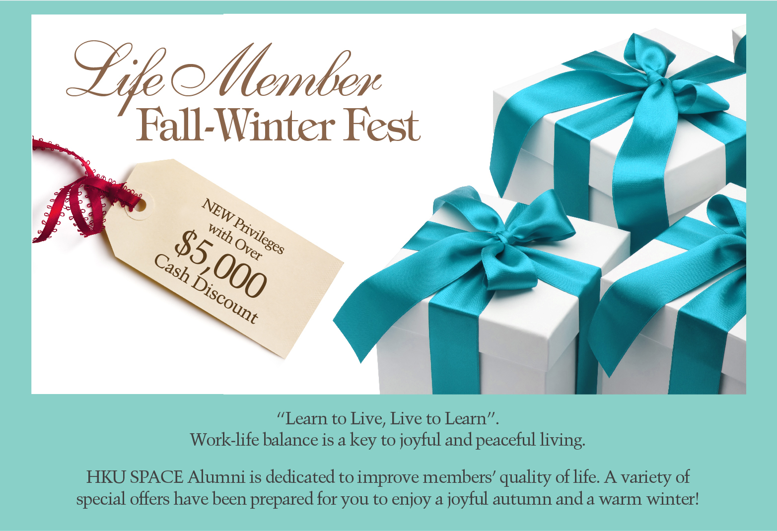 Life Member Fall-Winter Fest