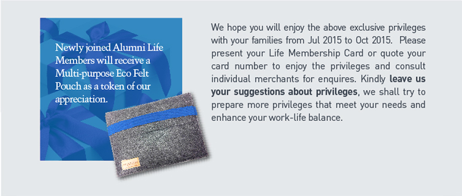 leave us your suggestions about privileges
