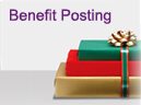 Benefit Posting